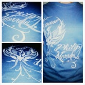 Image of Blue Phoenix T-shirt