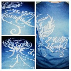 Image of Blue Phoenix T-shirt