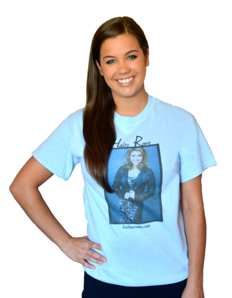 Image of Hailey Rowe T-Shirt (Blue)
