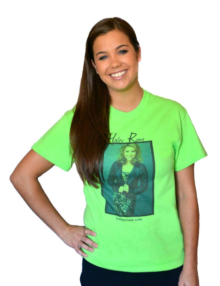 Image of Hailey Rowe T-Shirt (Green)