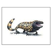 """Image of """"Happy Gila"""" Gila Monster Print"""