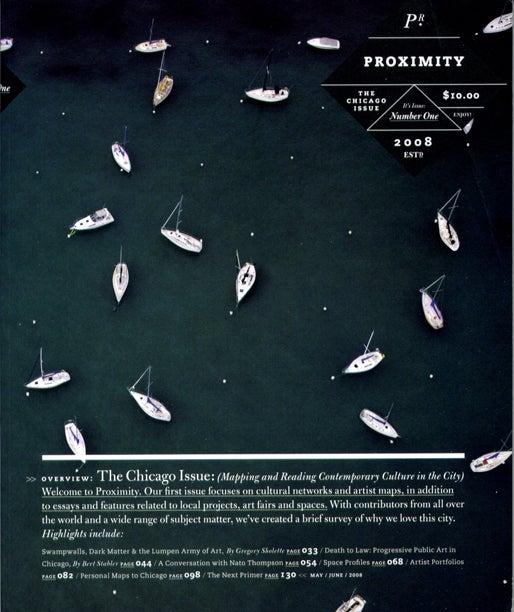 Image of Proximity Magazine Issue 001