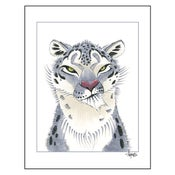 "Image of ""Snow Leopard"" Print"