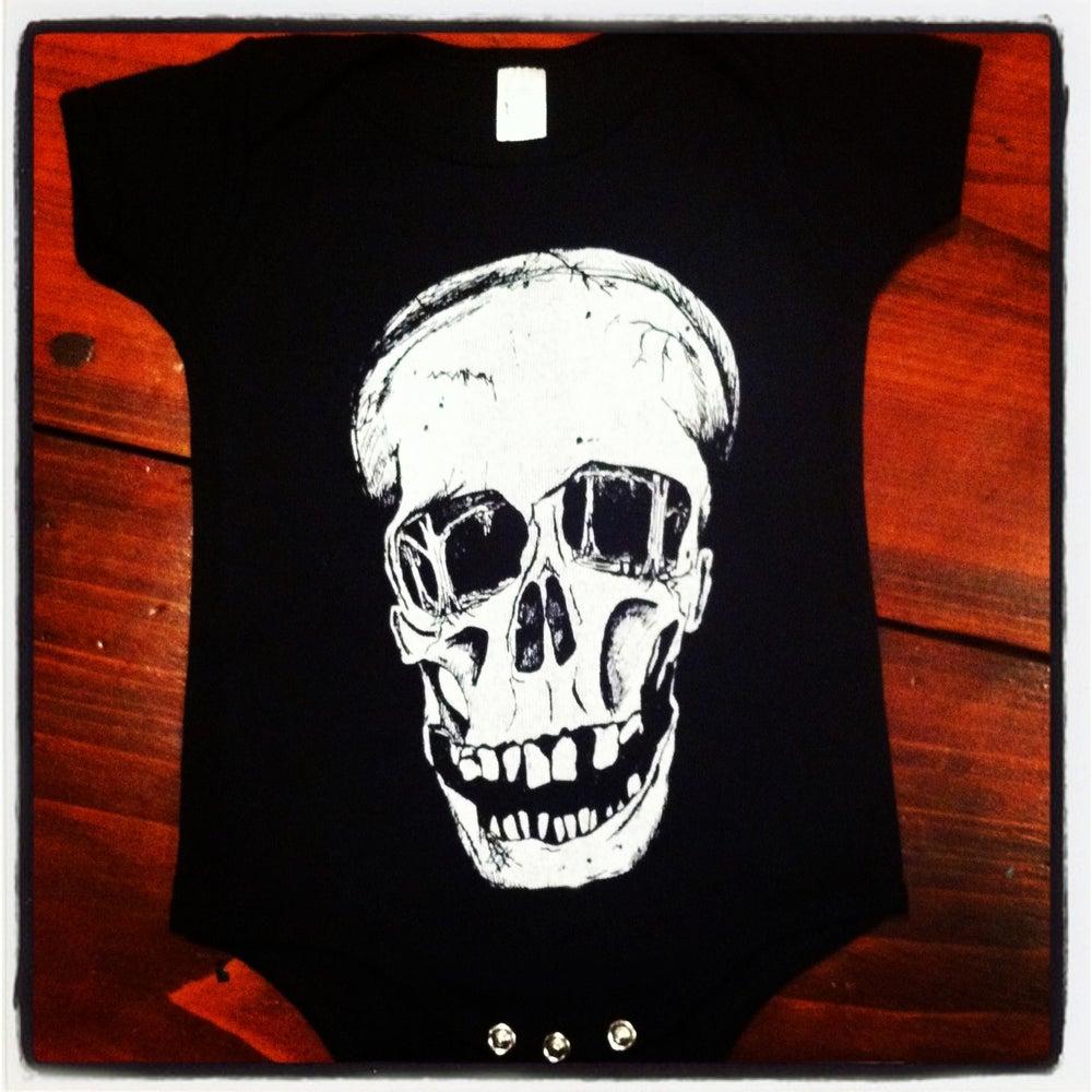 Image of Baby Skull Onesies