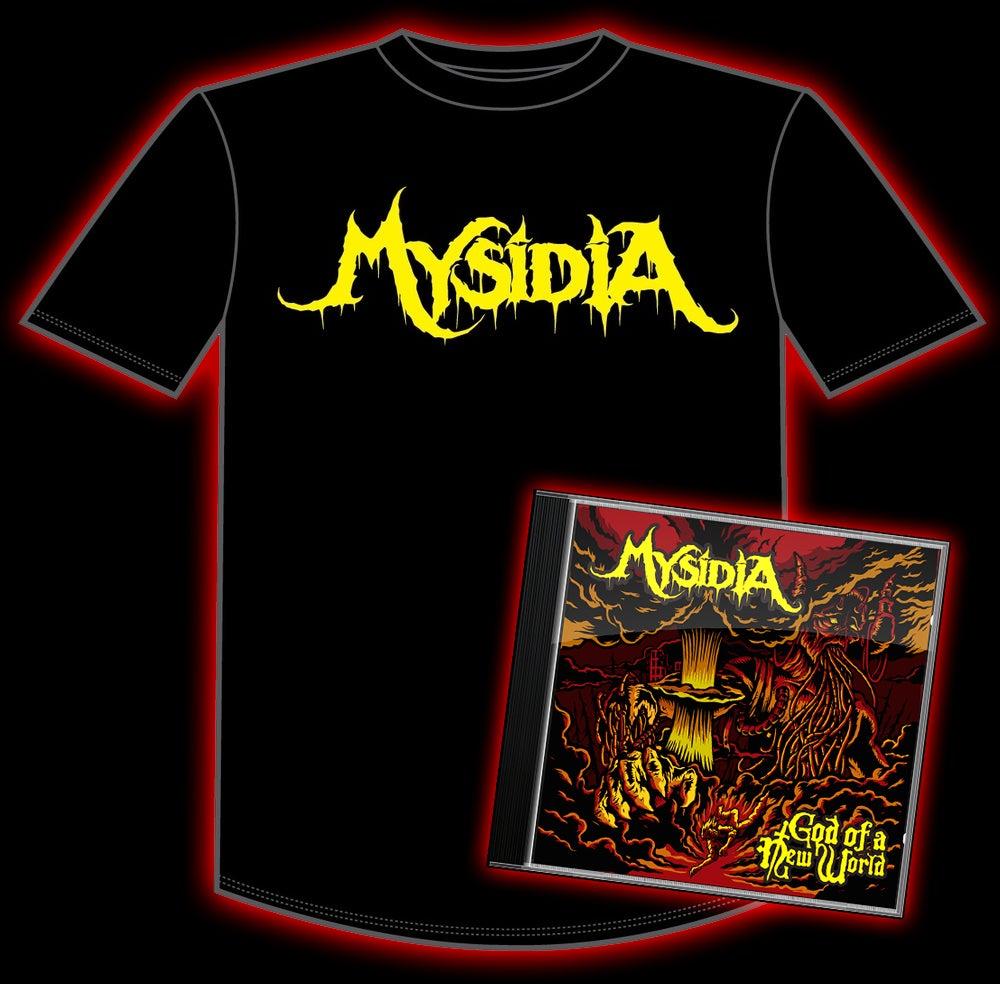 "Image of ""Mysidia"" Shirt & CD Bundle"