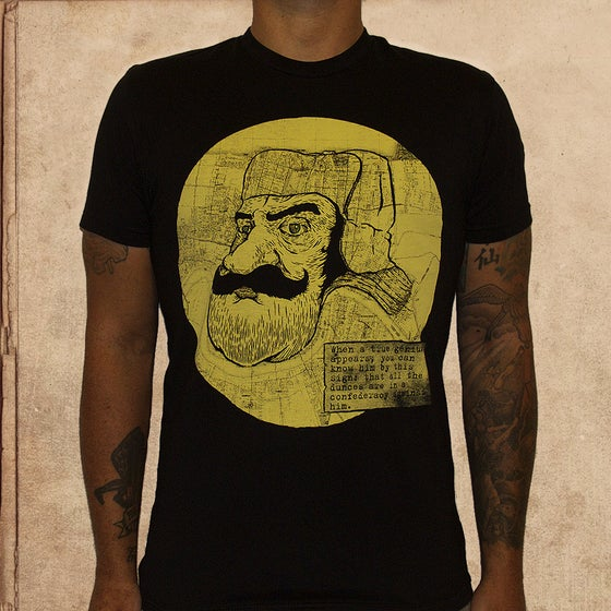 Image of A Confederacy of Dunces - black - unisex - discharge ink