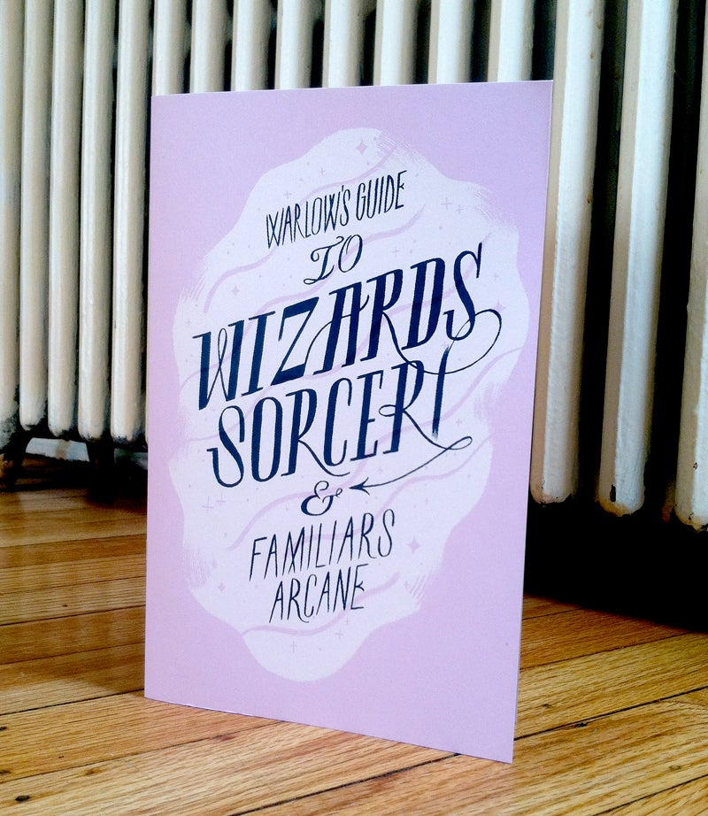 Image of Warlow's Guide to Wizards, Sorceri & Familiars Arcane