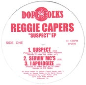 "Image of REGGIE CAPERS ""SUSPECT"" EP ***SOLD OUT***"