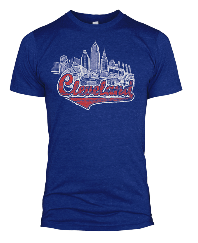 Image of Cleveland Monuments Tri-blend