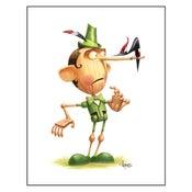 "Image of ""Pinocchi-UH-OH!"" Print"