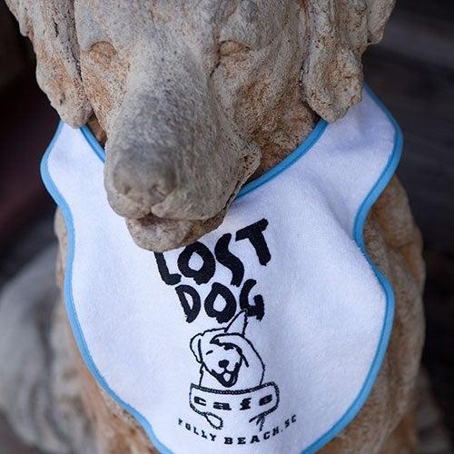 Image of Lost Dog Infant Bib