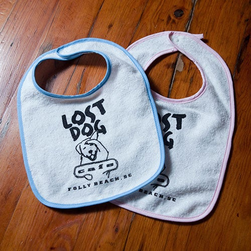 Image of Lost Dog Infant Bib