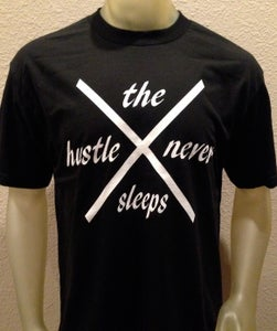Image of the hustle never sleeps