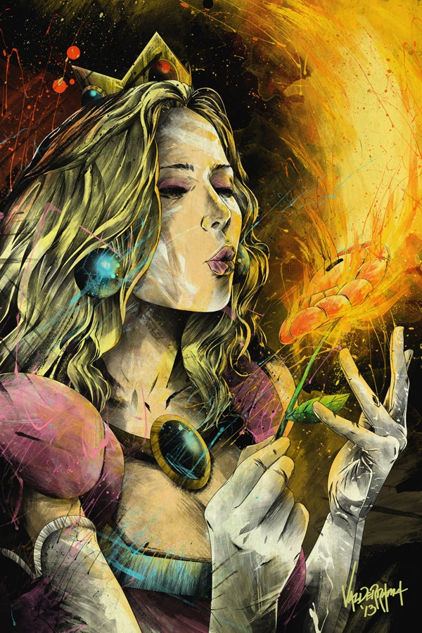 """Image of """"Ignite the Flame"""" - Inspired by Super Mario"""