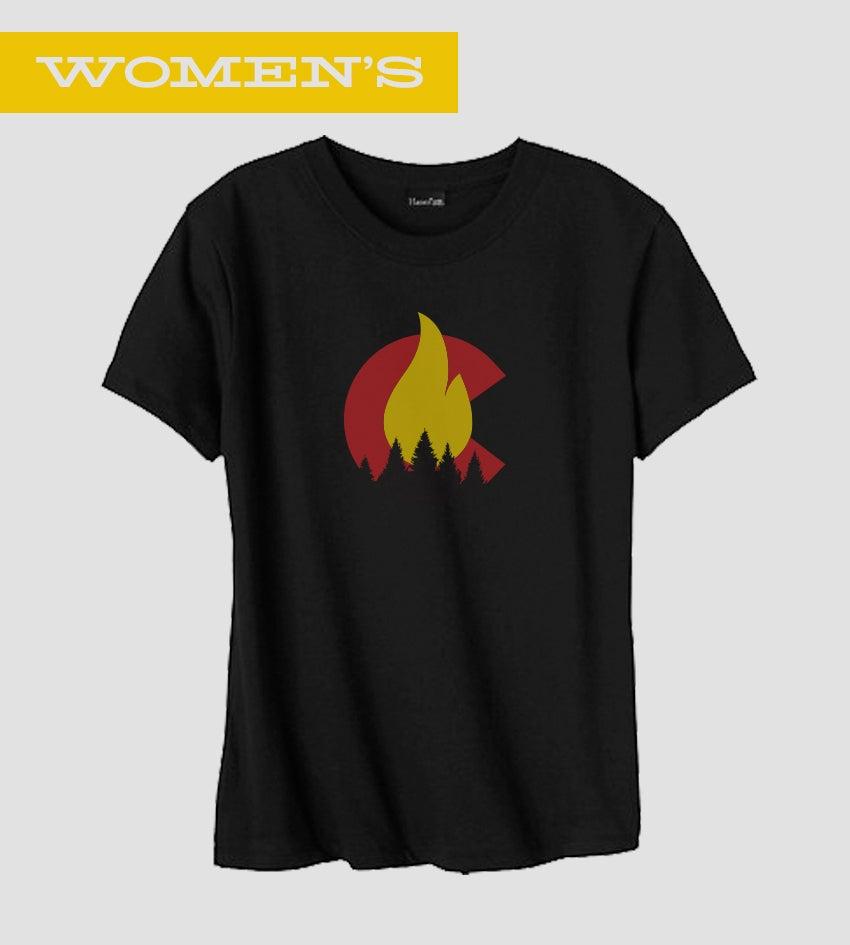 Image of C-Fire 2013 - Women's Tee |  Wild Fire Tees Signature Tee By Austin Buck