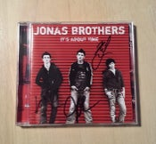 Image of Jonas Brothers signed Its About Time cd