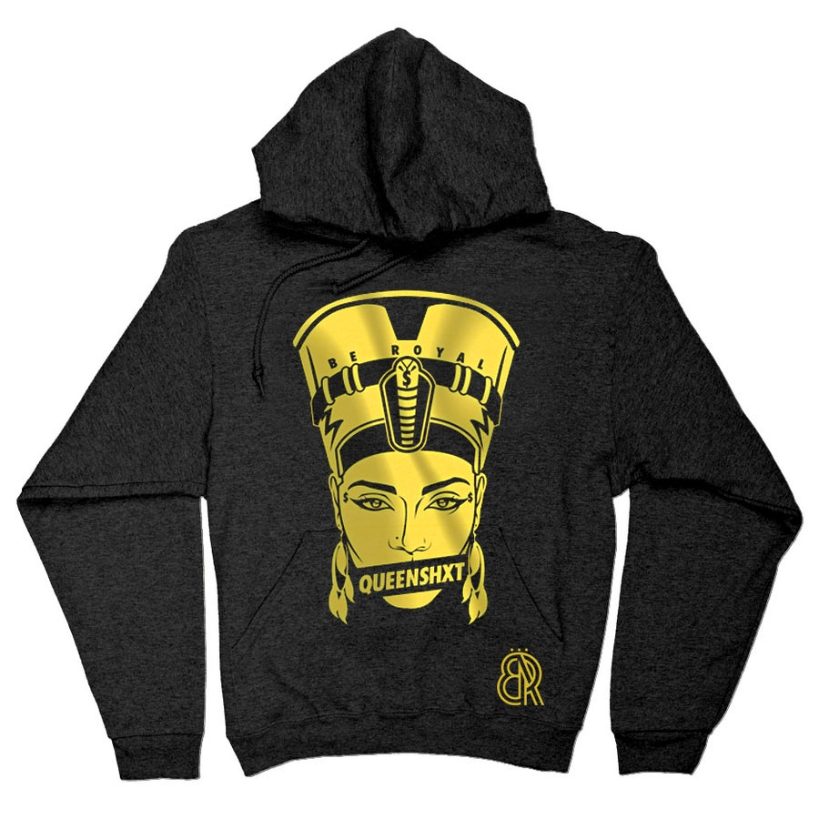 Image of Be Royal Womens Nefertiti Hoodie
