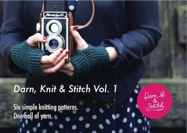 Image of Darn, Knit and Stitch Vol. 1- printed booklet