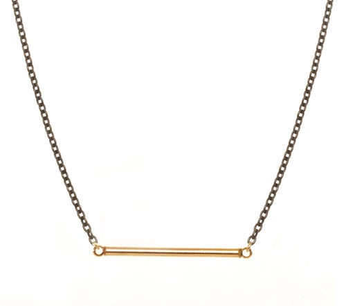 Image of BAR CHAIN necklace