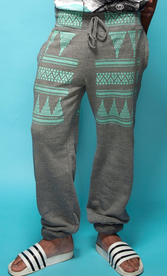 "Image of ""Tortuga"" Fleece Pant - Heather Grey"