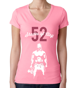 Image of 52 Shades of Clay® v2 Pink Ladies V-Neck