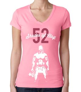 Image of 52 Shades of Clay® v2 Pink Ladies V-Neck