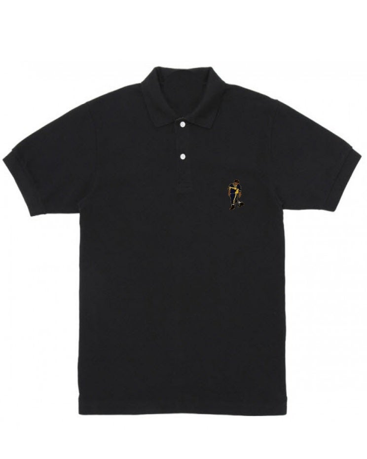 Image of The #DADALEANPOLO (Black)