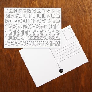 Image of A date card     (Pack of 3)