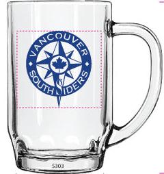 Image of Vancouver Southsiders Beer Mug