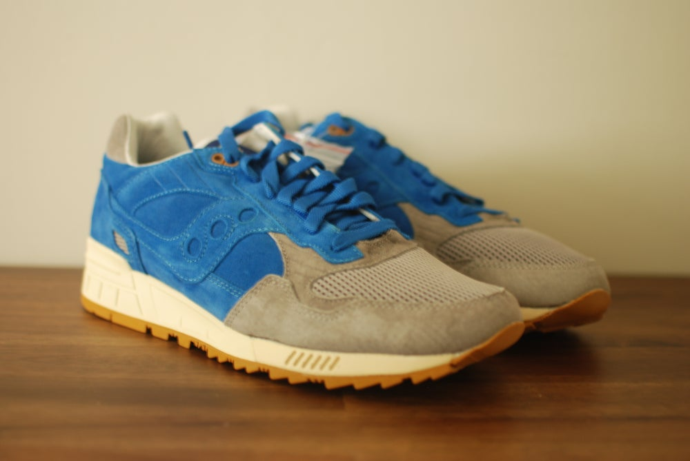 Image of Bodega x Saucony Shadow 5000 Blue/Grey