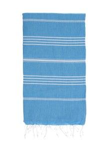 Image of Hammamas Turkish Towel (Aqua)