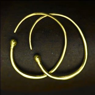Image of 18K Hoops