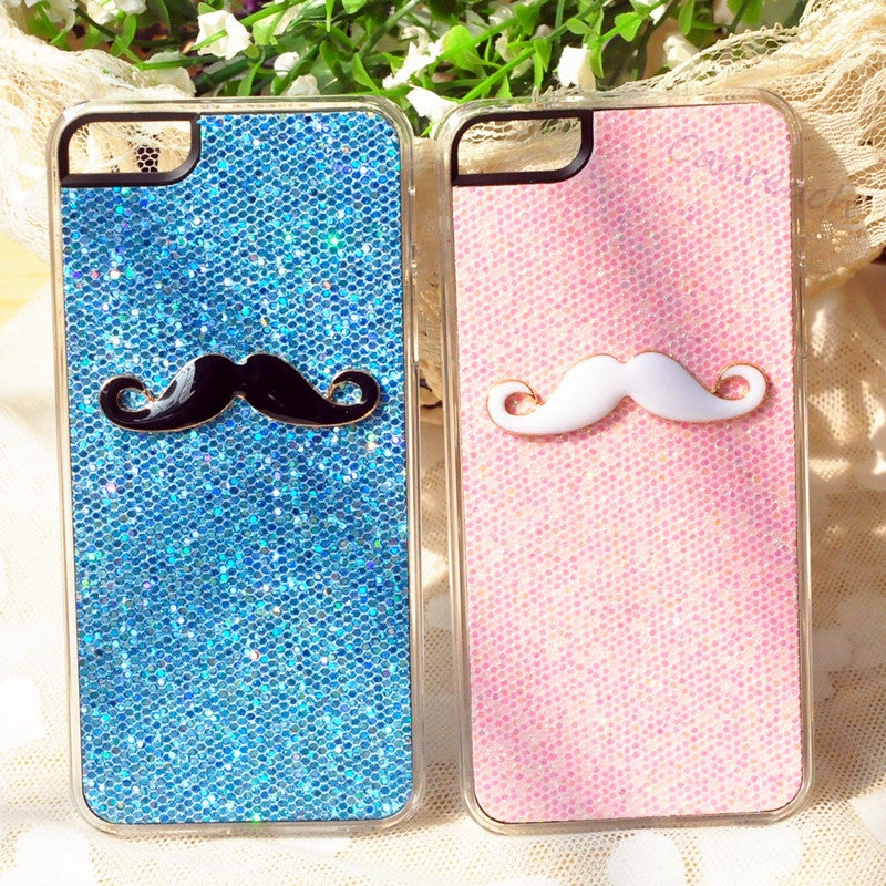 Creative mustache iphone 5 5s 5c case loveiseverything for Creative iphone case ideas