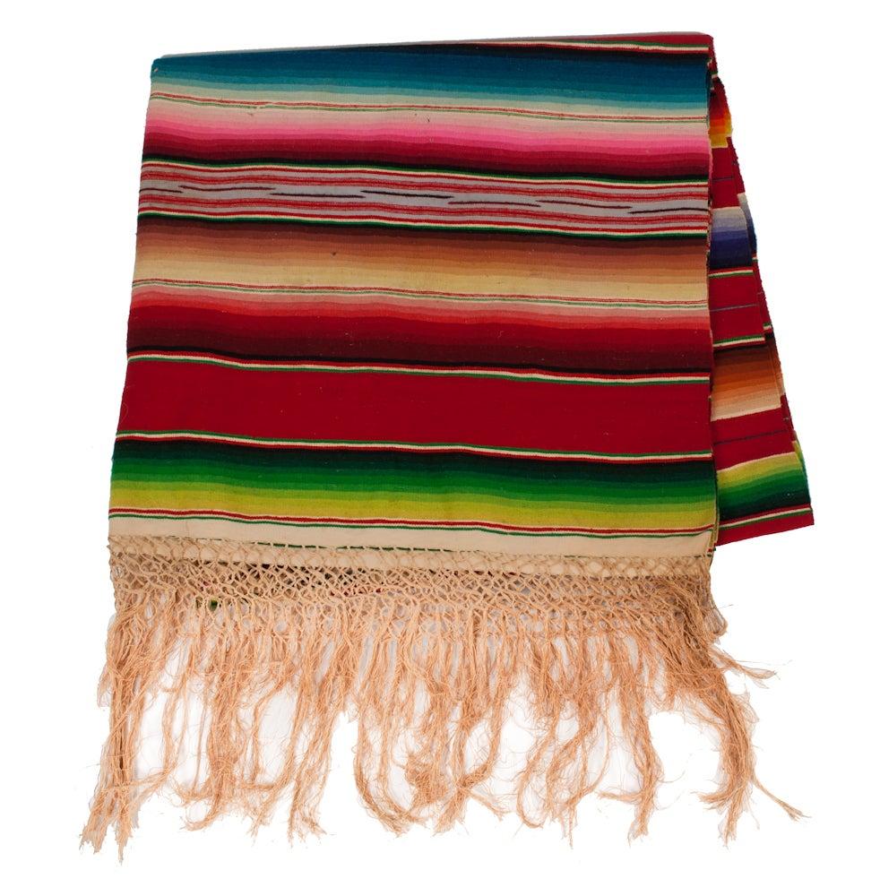 Image of Multi Color Mexican Serape
