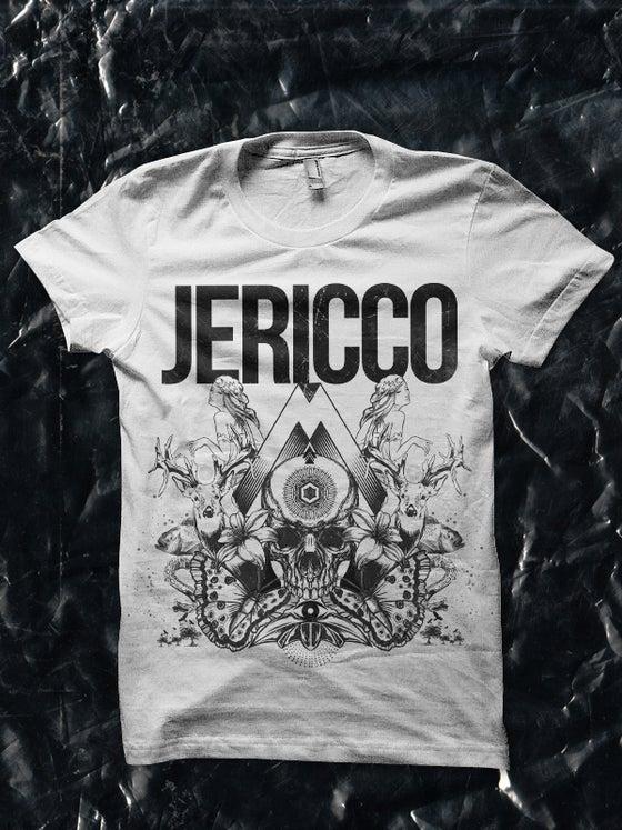 Image of Jericco 'Beautiful In Danger' Men's T-shirt Gray