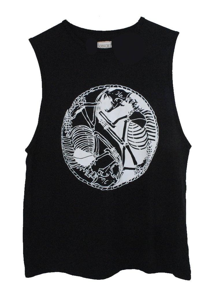 Image of Skeleton Yin Yang