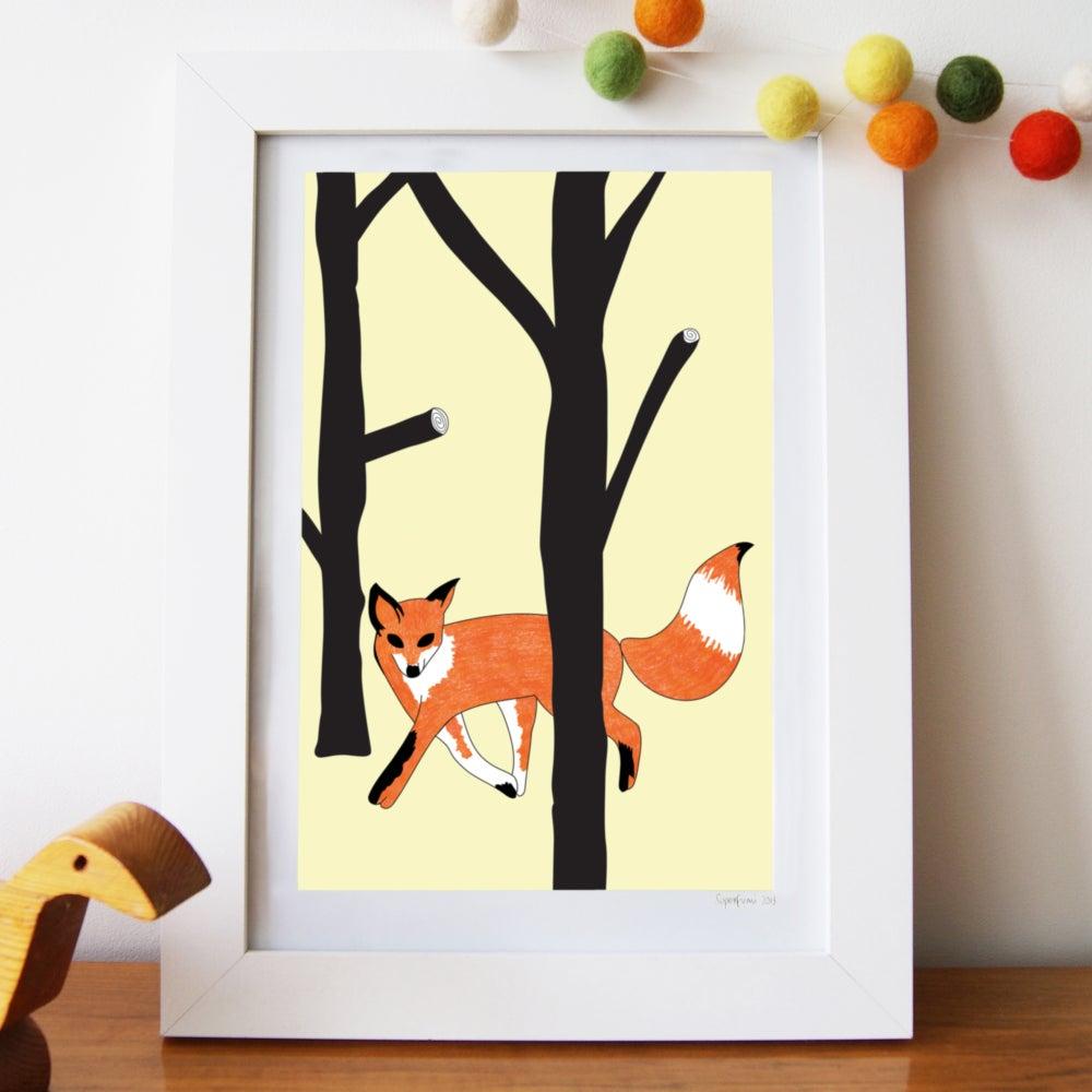 Image of Curious Fox Art Print