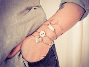 Image of Your Missing Button Bangle