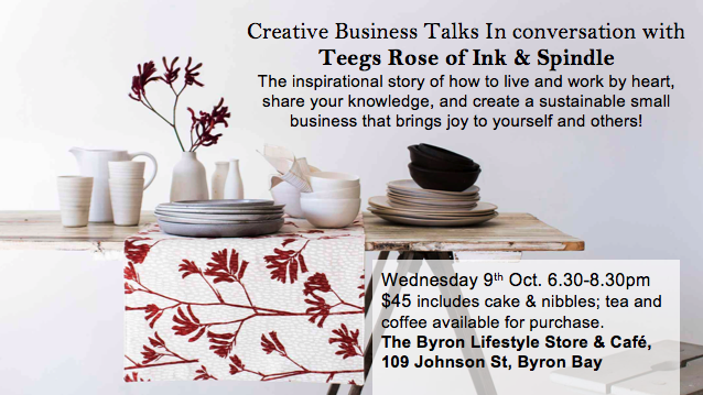Image of In conversation with Tegan Rose from Ink & Spindle.