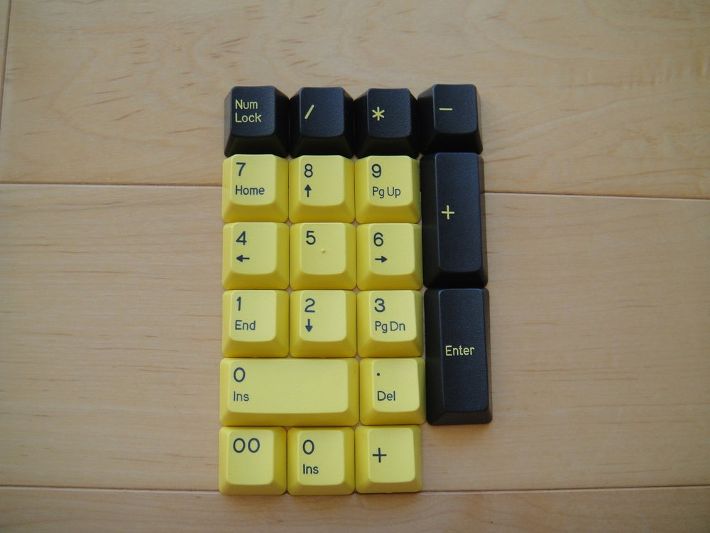 Image of Bumblebee Set Number Pad Kit