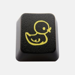 Image of Black Ducky Keycap