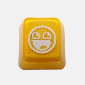 Image of Translucent Awesome Face Keycap