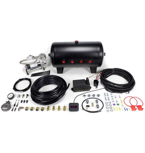 "Image of 3/8"" Auto Pilot V2 Air Control System with 5 Gallon Tank and Viair 380 Compressor"