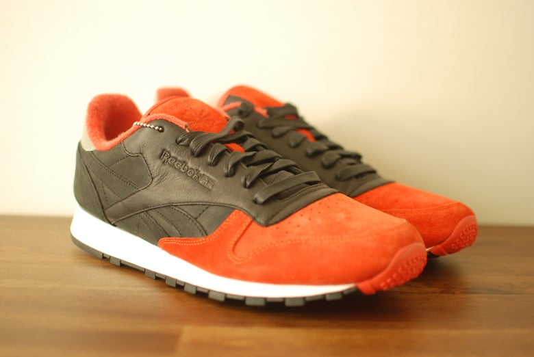 "Image of Solebox x Reebok Classic Leather ""Sturnella Militaris"""