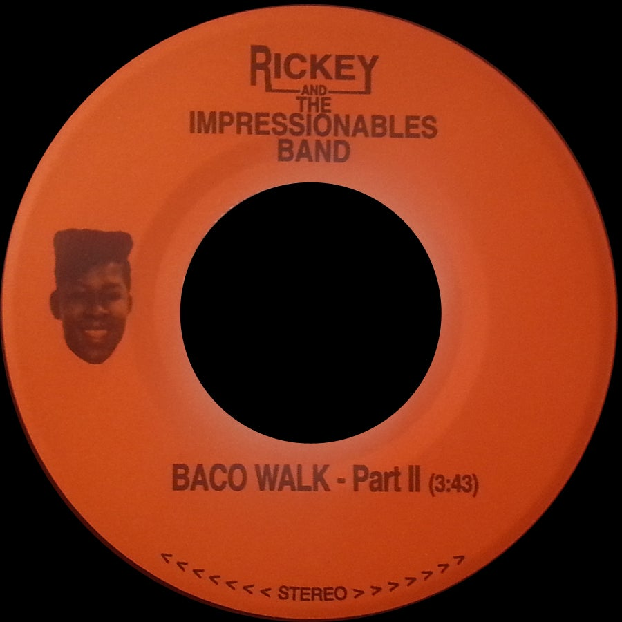 Image of PLUT-05 RICKEY & THE IMPRESSIONABLES