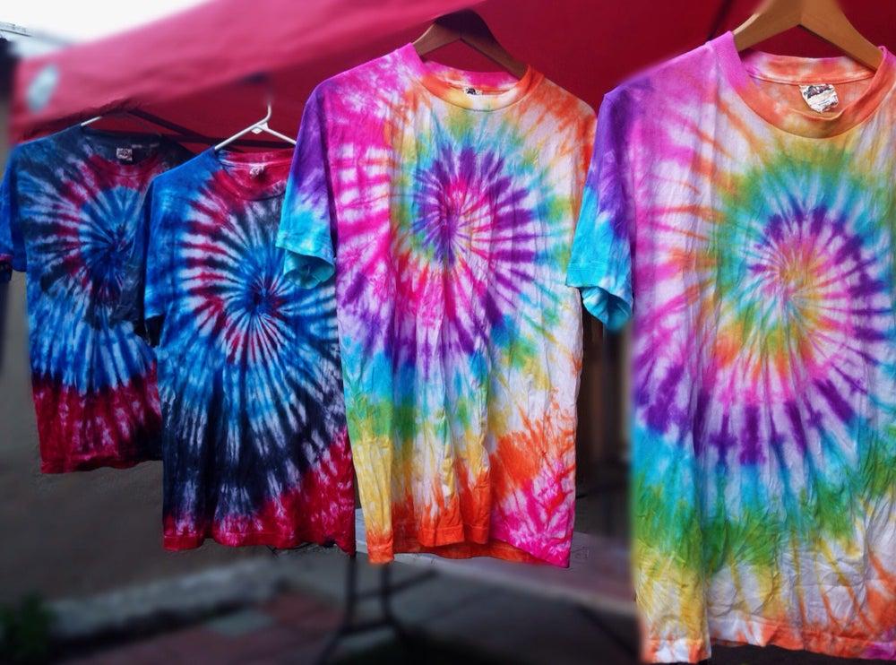 Image of Tie Dye Shirts