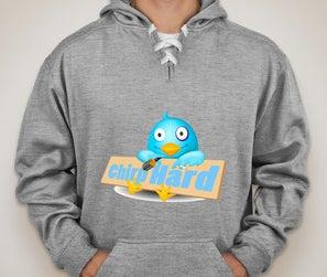 Image of Chirp hard Twitter hoodie