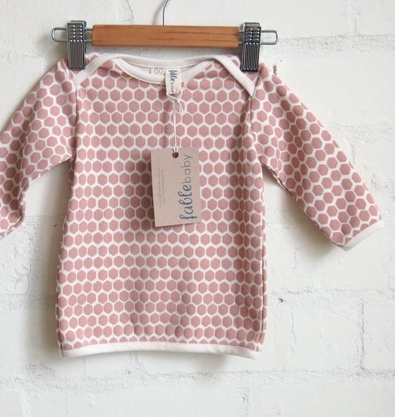 Image of Long Sleeve / Coral Honeycomb