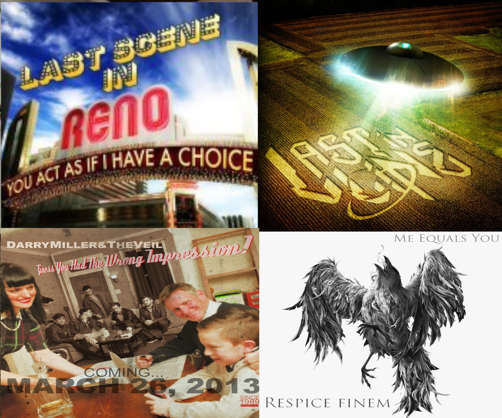Image of Liquid Fiction Records 4 CD Discography!! 4 Albums From Each Band!