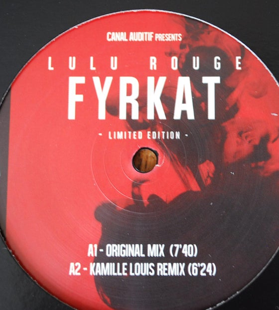 Image of Lulu Rouge Fyrkat 12""